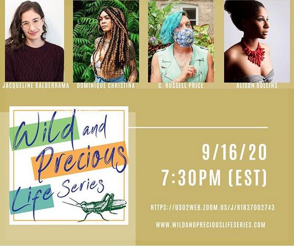 Wild and Precious Life Series_Instragram Poster